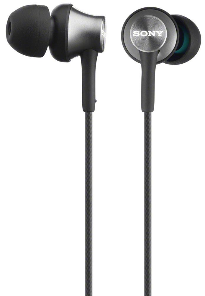 Sony MDR-EX450H, Gray наушники92447250Наушники Sony MDR-EX450H идеально подходят для активного образа жизни. Насладитесь кристально четкими средними и высокими нотами. Легкий алюминиевый корпус имеет более плотную структуру, обеспечивает богатство и динамику звучания.Будь то тяжелый рок, клубная музыка или популярная классика — все будет звучать ровно и чисто до мельчайших деталей.Фигурные вентиляционные отверстия оптимизируют низкие частоты и точно воспроизводят глубокие басовые ритмы и пульсацию.Небольшая, но мощная мембрана имеет размер купола динамика, равный диаметру 16-мм мембраны, что обеспечивает высокую чувствительность и низкий уровень искажений.Чувствительностью измеряется уровень эффективности преобразования электрического сигнала в звук. Высокая чувствительность этих наушников дает возможность слушать на большой громкости без потери четкости звучания.Благодаря скромным размерам мембрана удобно располагается за ухом, обеспечивая дополнительный комфорт и улучшенную звукоизоляцию.Рифленый шнур предотвращает спутывание проводов, специальный бегунок позволяет регулировать длину шнура.