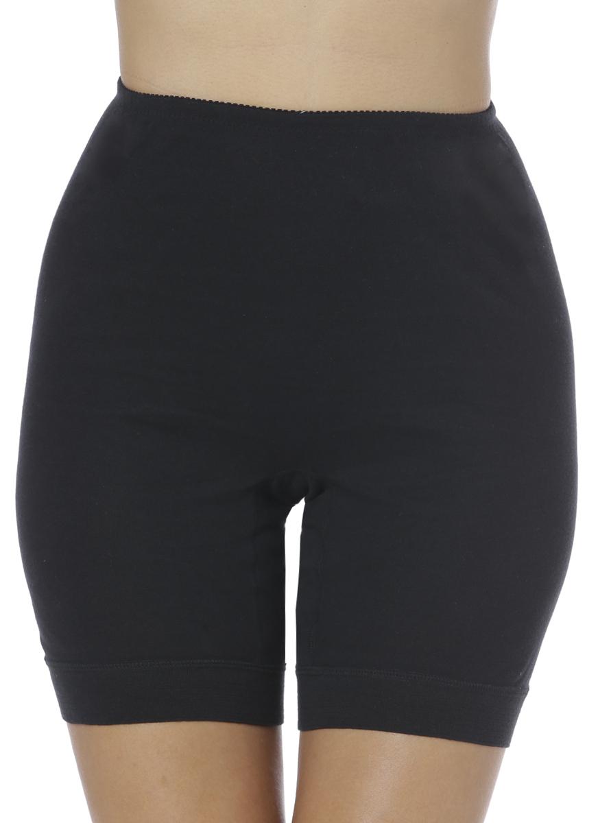 Панталоны женские Vis-A-Vis, цвет: черный. LHP1001L. Размер XL (50)LHP1001LЭлегантные панталоны Vis-A-Vis подчеркнут вашу женственность и уникальный вкус. Панталоны завышенной посадки выполнены из высококачественного натурального хлопка, что позволяет им создавать неповторимое ощущение комфорта и удобства. Комфортные эластичные швы приятны к телу и не раздражают кожу. Изделие дополнено эластичными манжетами. Панталоны подтягивают и корректируют фигуру, удобно сидят, не стесняют движений и совершенно не заметны под одеждой, что обеспечивает наибольшее удобство при носке. Они позволят вам чувствовать себя комфортно в любое время и подчеркнут ваше очарование и привлекательность.