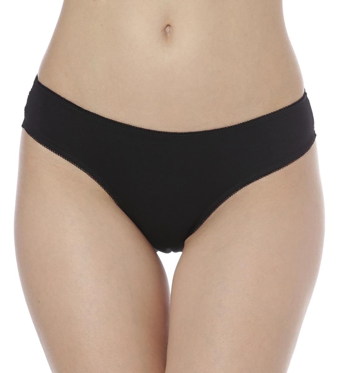Купить Трусы женские Vis-A-Vis, цвет: черный. DS1077. Размер M (46)
