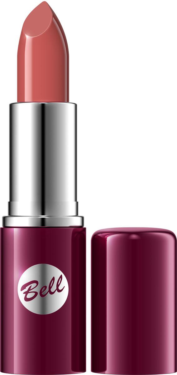 Bell Помада для губ Lipstick Classic Тон 102, 4,8 гр040133003Чтобы выглядеть сверхэлегантной, попробуйте помаду, которая придаст идеальную форму Вашим губам, окрашивая их в чистый, атласный и блестящий цвет. Формула, обогащенная питательными веществами и витаминами, подчеркнет аппетитность ваших губ, одновременно увлажняя и защищая их. Мягкая и бархатная текстура помады обеспечивает легкое скольжение, устойчивый пигмент сохраняет цвет на губах длительное время. Вы ощутите и увидите Ваши губы ухоженными и соблазнительными. Роскошная палитра из 30 тонов: от классических до супермодных для любого случая и настроения.Способ применения: Нанести на губы по контуруКакая губная помада лучше. Статья OZON Гид