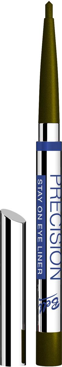 Bell Карандаш для глаз Устойчивый Precision Eye Liner Тон 1, 4 грB4koP001Автоматически, точно, идеально!Precision это изысканная коллекция автоматических контурных карандашей для макияжа глаз и губ. Нанесение точного контура теперь стало необычайно простым! Инновационные полимеры, входящие всостав, обеспечивают особую эластичность грифеля, что гарантирует точность и устойчивость нанесенных линий. Входящий в состав ланолин и специальный растительный воск ухаживает за нежной кожей век, а силиконовые микрошарики гарантируют мягкое и комфортное нанесение. Результат – идеальный устойчивый макияж, ошеломляющий своей красотой ичувственностью! Тон 1