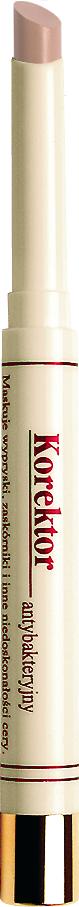 Bell Корректор антибактериальный Antibacterial Concealer Тон a1, 1,2 грBkoa001Текстура корректора эффективно скрывает несовершенства кожи и выравнивает тон кожи. Формула обогащена натуральным маслом чайного дерева, обладающим антисептическим и противовоспалительным свойствами. Корректор легко скрывает темные круги вокруг глаз и придает коже нежный сияющий оттенок.Эффективно скрывает несовершенства и выравнивает тон кожи.Особенности состава: Формула обогащена натуральным маслом чайного дерева, обладающим антисептическим и противовоспалительным свойствами.Способ применения: Выпускается в 3-х тонах: А1. Светлый - маскирует следы усталости вокруг глаз А2. Бежевый - маскирует прыщики, оказывая лечебный антибактериальный эффект А6. Зеленый - отлично скрывает покраснения