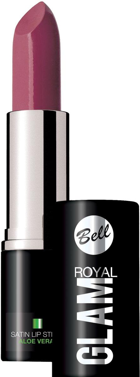 Bell Помада для губ Royal Glam Satin Lipstick Тон 75, 4,2 грBpomRG075Благодаря специально разработанной формуле, губная помада Royal Glam, обладает насыщенным и стойким цветом. Семь изысканных оттенков губной помады, сделают Ваш образ неотразимым. Питательные и регенерирующие компоненты алоэ деликатно ухаживают за губами. Насыщенный и стойкий цвет. Особенности состава:Способ применения: Нанести на губы по контуруКакая губная помада лучше. Статья OZON Гид