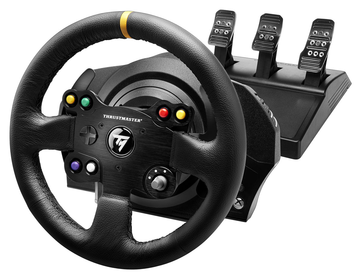Thrustmaster TX RW Leather Edition EU руль для Xbox One/PC (4460133) видеоигра для xbox one overwatch origins edition