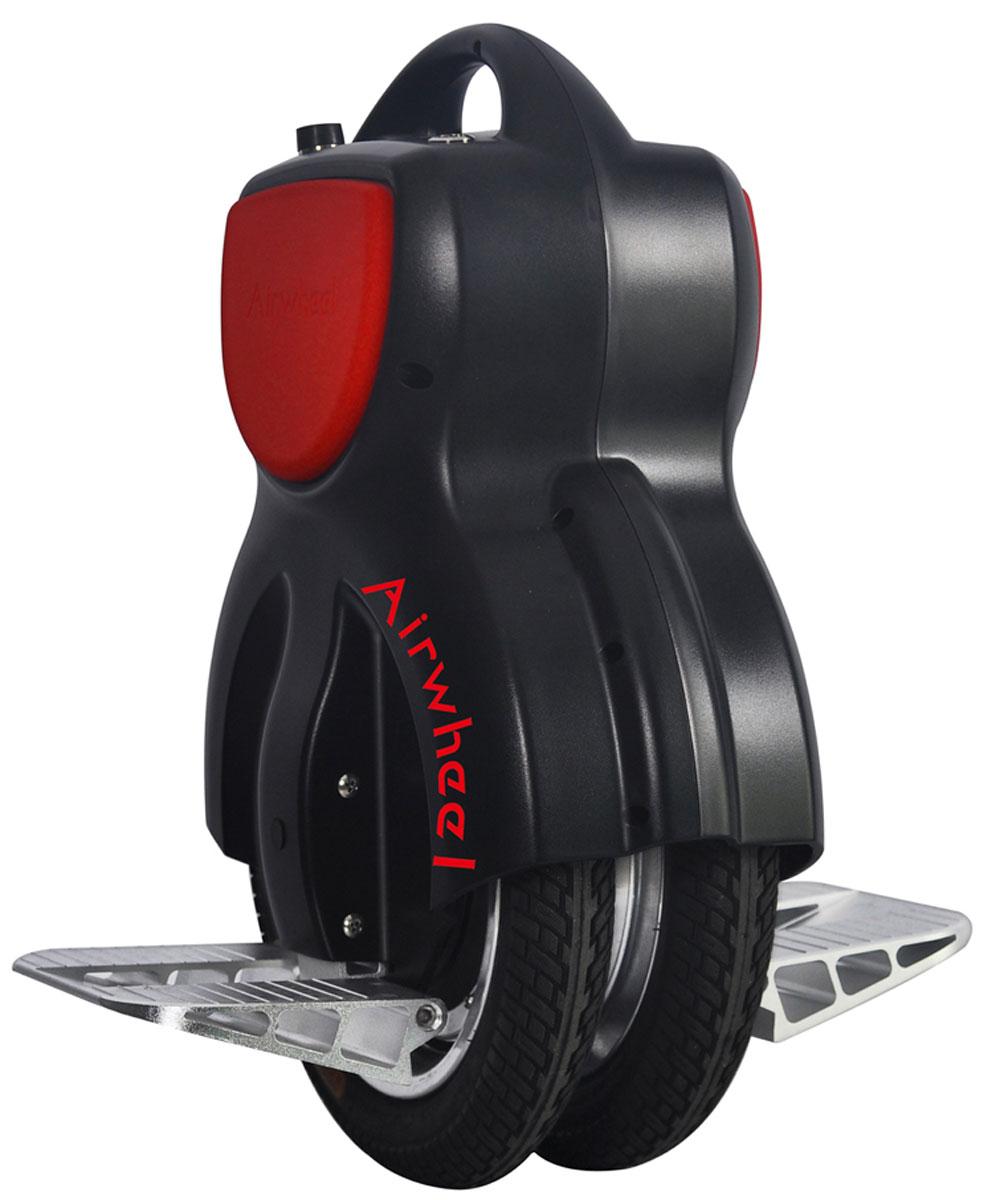 Airwheel Q1, Black двухколесный гироцикл (батарея Sony 260 Вт/ч)AIRWHEEL Q1-260WH-BLACKКомпактное моноколесо со сдвоенной колесной конструкцией и диаметром 11 дюймов.Двойное колесоЗащита от пыли и влагиИндикатор зарядаРучка для переноски260WHМатериал корпуса: Металл; Пластик