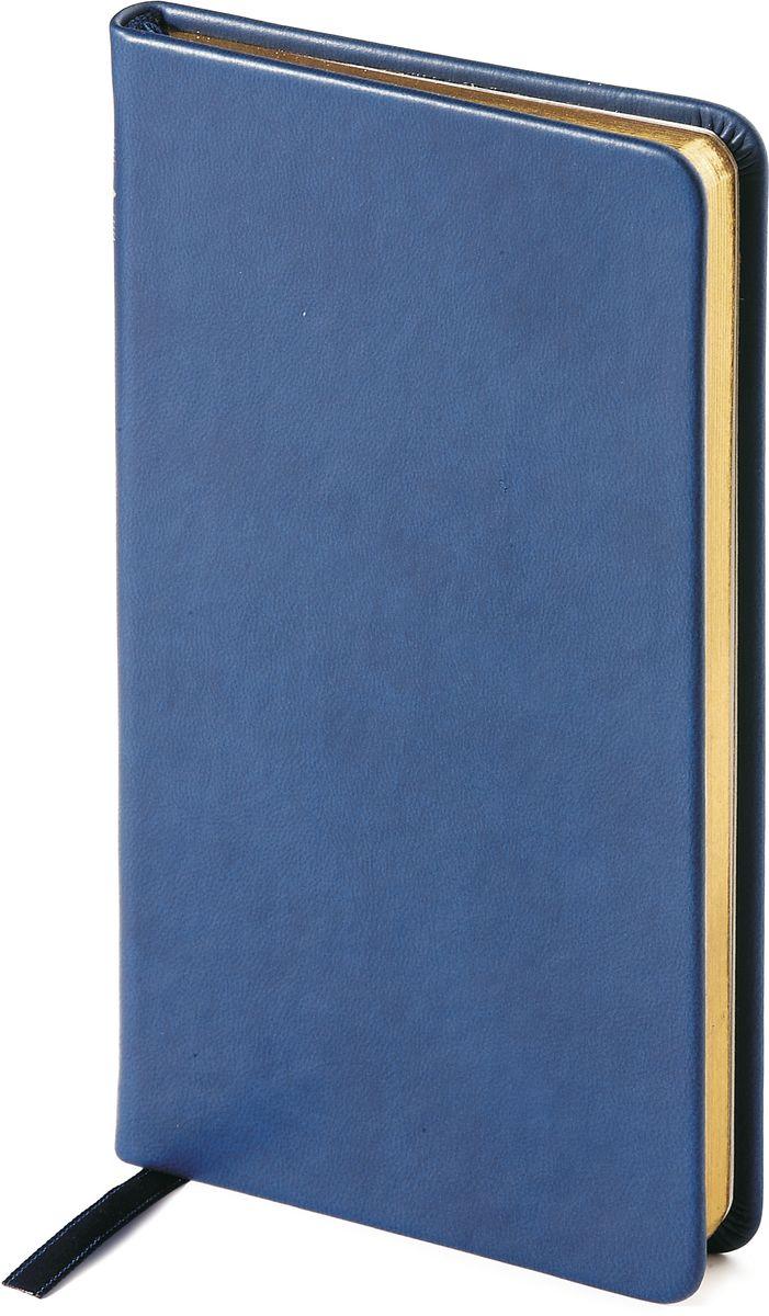 Bruno Visconti Еженедельник Megapolis Velvet недатированный 160 листов цвет синий