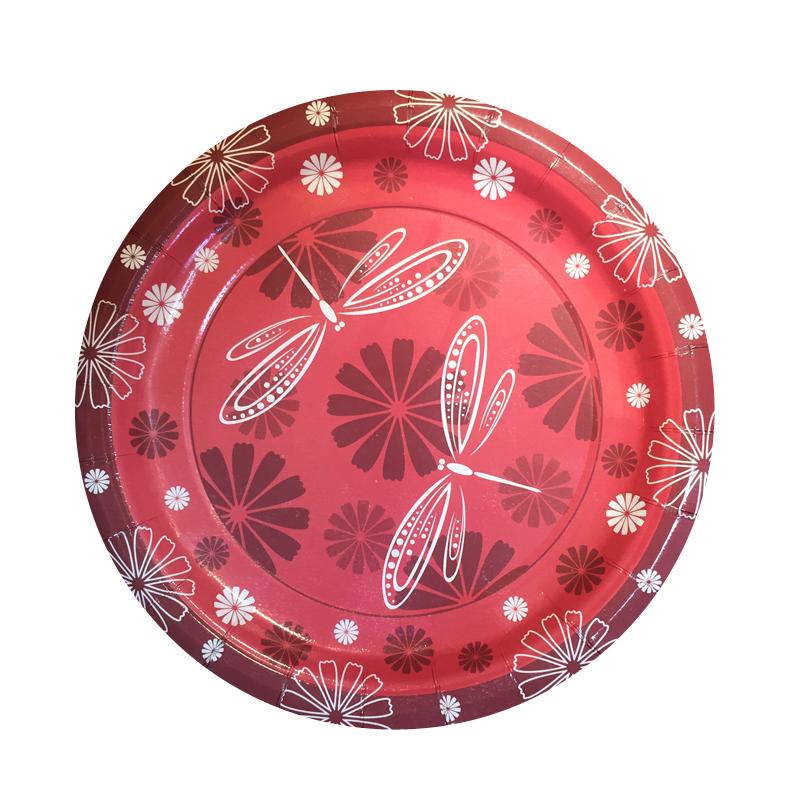 Набор одноразовых десертных тарелок Bulgaree Green Стрекозы, диаметр 18 см, 10 шт1040Набор Bulgaree Green Стрекозы состоит из 10 десертных тарелок, выполненных из картона с защитным покрытием и предназначенных для одноразового использования. Используются для холодных пищевых продуктов. Одноразовые тарелки будут незаменимы при поездках на природу, пикниках и других мероприятиях. Они не займут много места, легки и самое главное - после использования их не надо мыть.Диаметр тарелки: 18 см.