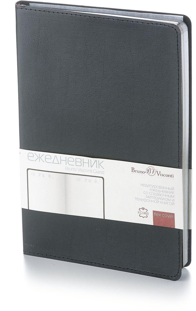 Bruno Visconti Ежедневник А5 MEGAPOLIS FLEX цвет бордовый блокноты bruno visconti блокнот а5 megapolis flex