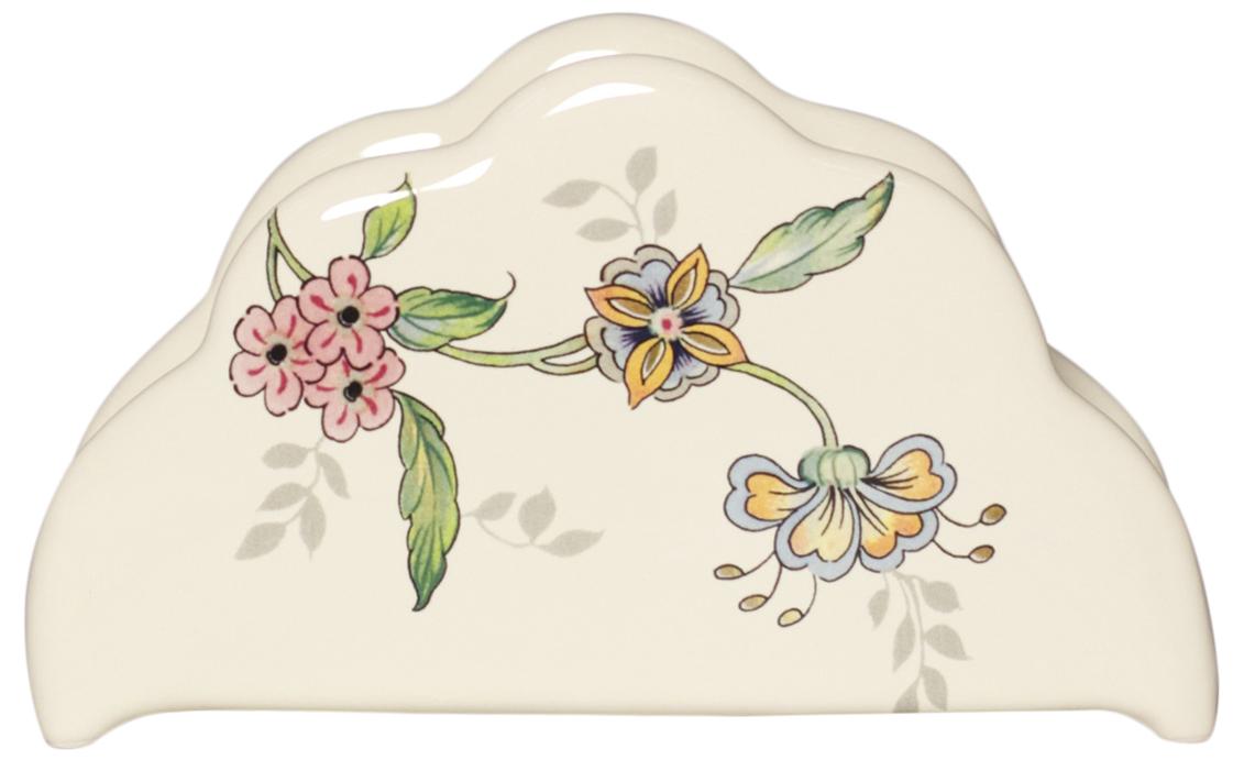 Подсалфетница Nuova Cer Прованс, 16 смPRV-3520Подсалфетница Nuova Cer Прованс изготовлена из керамики и оформлена принтом. Такая салфетница великолепно украсит праздничный стол.