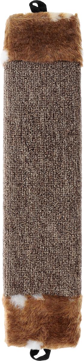 Когтеточка Elite Valley, цвет: коричневый, белый, длина 42 смКТ-1_коричневый, белыйКогтеточка Elite Valley поможет сохранить мебель и ковры в доме от когтей вашего любимца, стремящегося удовлетворить свою естественную потребность точить когти. Когтеточка изготовлена из ДСП и обтянута ковролином. Изделие продумано в мельчайших деталях и, несомненно, понравится вашей кошке. Всем кошкам необходимо стачивать когти. Когтеточка - один из самых необходимых аксессуаров для кошки. Общая длина когтеточки: 42 см. Длина рабочей части: 27 см.