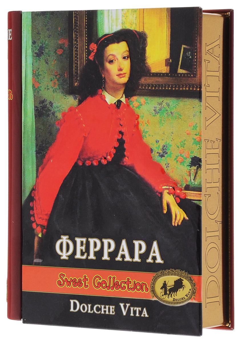Dolche Vita Феррара элитный ароматизированный черный листовой чай, 100 г (подарочная шкатулка) dolche vita сhalong пу эр чай листовой 100 г