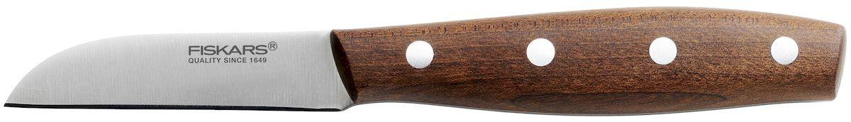 Нож для очистки корнеплодов Fiskars Norr, длина лезвия 7 см нож fiskars essential 11см д корнеплодов нерж сталь пластик