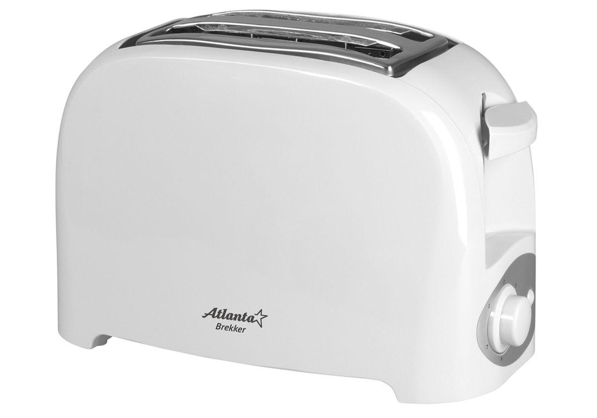 Atlanta ATH-233, White тостер77.858@24290На два ломтика хлебаРегулятор времени поджариванияПоддон для крошекАвтоматическое отключениеЗащита от перегреваУдобное хранения шнураМощность 750 Вт230 В, 50 Гц26.5 x 13.1 x 16 см