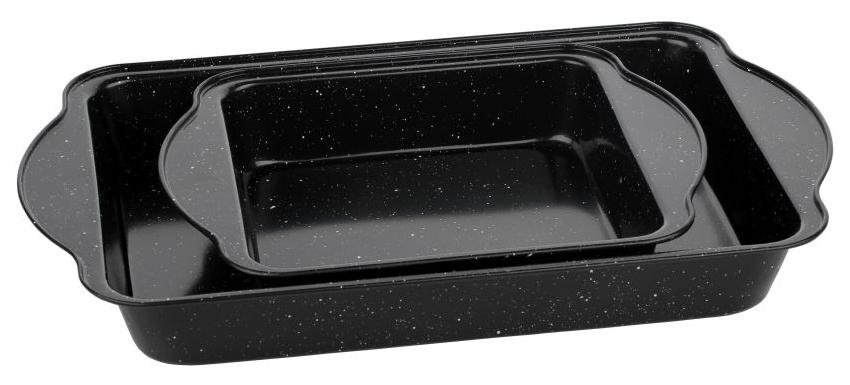 Набор форм для запекания Walmer Black Marble, 40,5х25,5х5,5 см, 27х22х5 см. W12022495W12022495