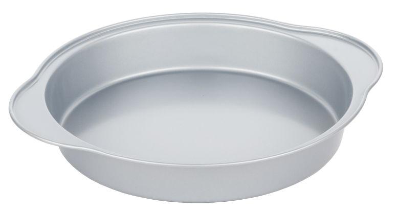 Форма для выпечки Walmer Silver, круглая, диаметр 24 смW12022844Круглая форма для выпечки Walmer Silver, выполненная из высококачественной углеродистой стали, гарантирует великолепный результат. Материал корпуса обеспечивает максимальную теплоотдачу, экономя время приготовления. Двухслойное антипригарное покрытие Xynflon полностью безопасно и не выделяет вредных веществ при нагреве.Форма идеально подходит для приготовления пирогов, запеканок и других блюд. Можно мыть в посудомоечной машине.