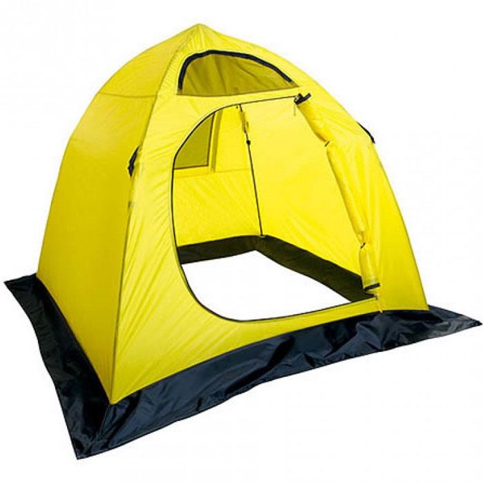 Палатка Holiday Easy Ice 210см х 210см YellowH-10461Четырехугольная палатка Holiday Easy Ice создана специально для любителей зимней рыбалки. Конструкция не перегружена лишними приспособлениями, что позволяет максимально облегчить вес и уменьшить ее стоимость. Каркас изготовлен из трубчатого стекловолокна с диаметром 8 мм, что делает палатку устойчивой при сильном ветре. В комплект входят крючки, с помощью которых происходит крепление укрытия за края недосверленных лунок, и сумка-чехол для удобной транспортировки. Снегозащитная юбка по всему периметру палатки предотвратит проникновение влаги внутрь. Характеристики: Материал : 190T нейлон с PU покрытием. Размер палатки: 210 см х 210 см.Высота: 160 см. Водонепроницаемость: 600 мм. Диаметр каркаса: 0,8 см. Размер упаковки: 115 см х 14 см х 14 см. Что взять с собой в поход?. Статья OZON Гид