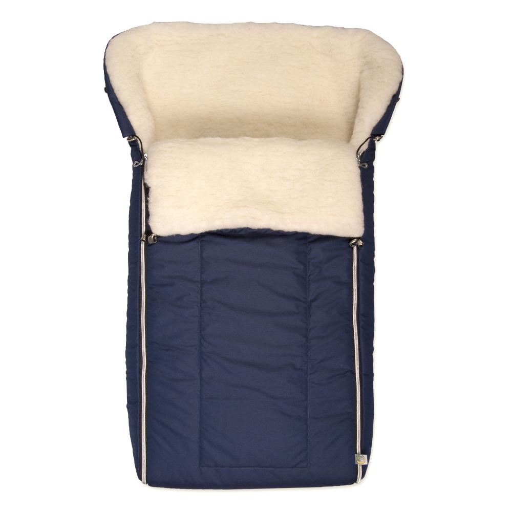 Конверт для новорожденного Сонный Гномик Норд, цвет: темно-синий. 983/6. Возраст 0/9 месяцев