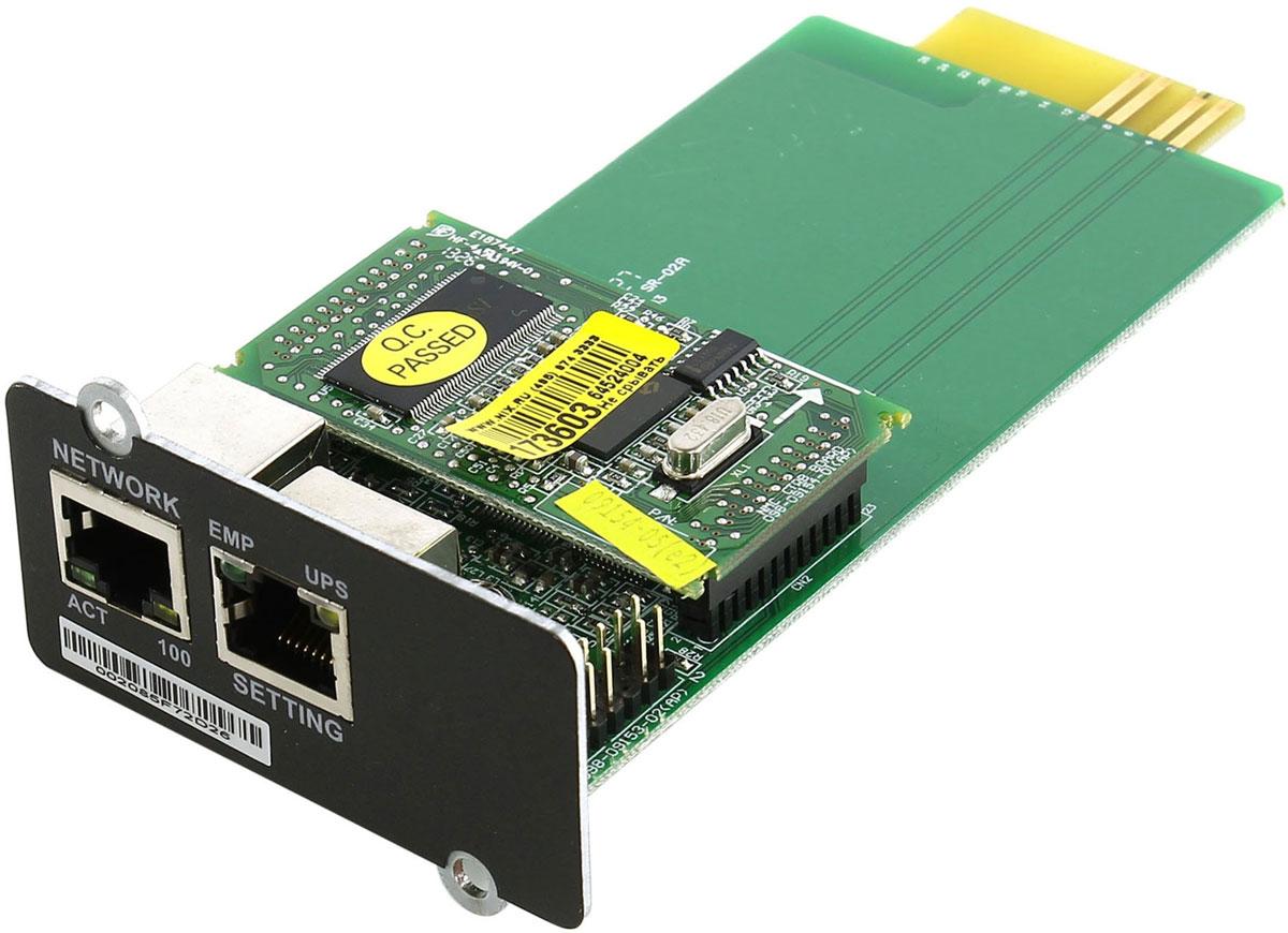 Ippon NMC SNMP адаптер для UPS Ippon Smart Winner 1500/2000/3000 - Источники бесперебойного питания (UPS)