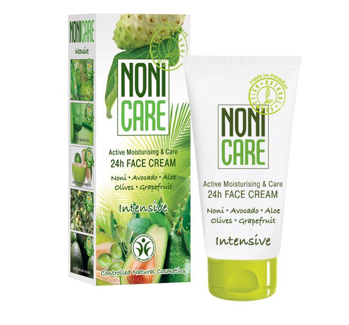 Nonicare Увлажняющий крем для лица 24 часа Intensive - 24 h Face Cream 50 мл5903240869428Крем препятствует преждевременному старению, обеспечивает полноценное питание, защиту и увлажнение на протяжении 24 часов. Устраняет сухость, стянутость и последствия обезвоживания кожи. Ускоряет регенерацию кожи и укрепляет сосуды. Восполняет необходимый ежедневный ресурс влаги. Активизирует клетки кожи, реконструирует и восстанавливает коллаген и гиалуроновую кислоту. Нормализует процесс ороговения и препятствует появлению черных точек (комедонов). Повышает иммунитет, снижает восприимчивость к внешней агрессии. Экстракты грейпфрута и цветков горького апельсина оказывают антиоксидантное действие, детоксицируют клетки кожи, предупреждают появление пигментации, улучшают эластичность кожи, обладают уникальными очищающими и антисептическими свойствами. При регулярном использовании действует эффект «накопления»: кожа разглаживается, становится наполненной, приобретает здоровый цвет. Крем восполняет необходимый ежедневный ресурс влаги кожи. Предупреждает преждевременное старение. Кожа выглядит более свежей, гладкой и ухоженной. Является идеальной основой под макияж. Подходит для чувствительной кожи. Рекомендован для нормального, комбинированного и жирного типов кожи с 25 лет в качестве основного ухода, с 18 лет курсами (28-30 дней).