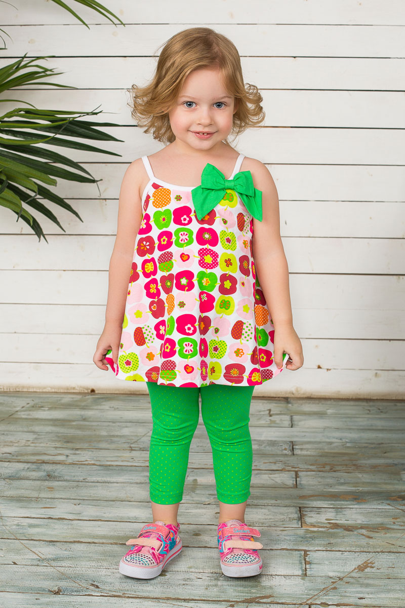 Леггинсы для девочки Sweet Berry Baby, цвет: зеленый. 195287. Размер 80, 12 месяцев леггинсы viva baby леггинсы