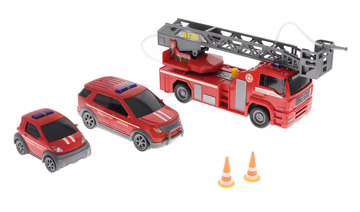 Dickie Toys Игровой набор Пожарная охрана dickie toys игровой набор маяк