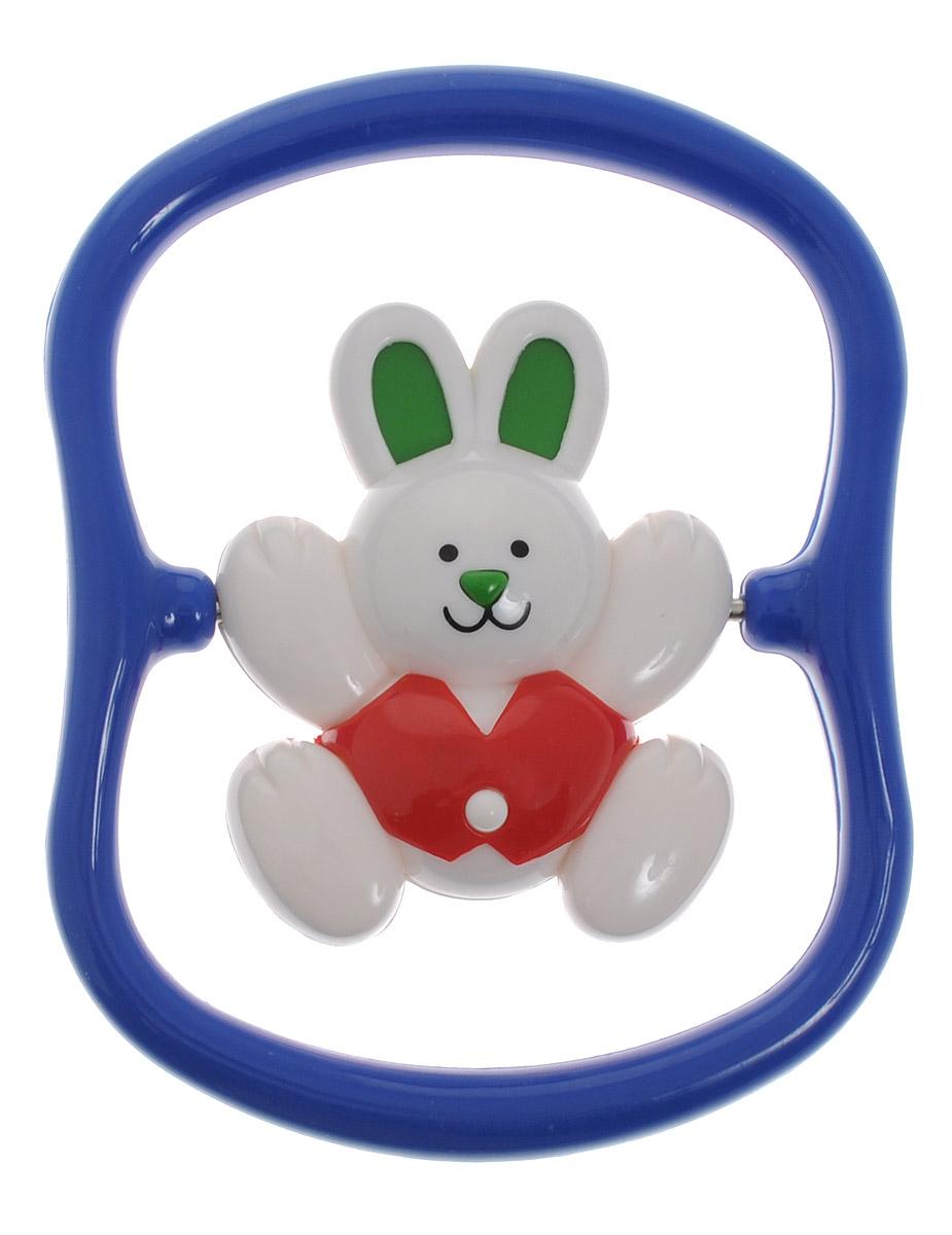 Tolo Погремушка Кролик цвет синий красный зеленый развивающие игрушки tolo toys кенгуру первые друзья