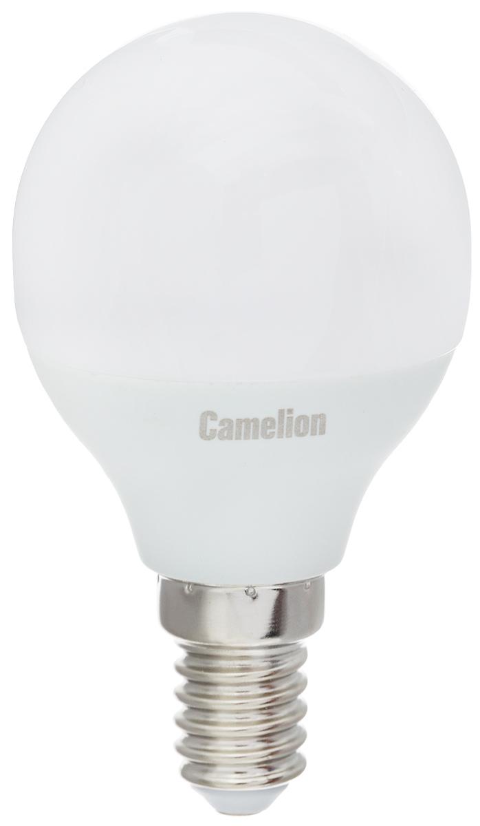Лампа светодиодная Camelion, теплый свет, цоколь Е14, 3W11373Светодиодная лампа Camelion - это инновационное решение, разработанное на основе новейших светодиодных технологий (LED) для эффективной замены любых видов галогенных или обыкновенных ламп накаливания во всех типах осветительных приборов. Она хорошо подойдет для освещения квартир, гостиниц и ресторанов. Лампа не содержит ртути и других вредных веществ, экологически безопасна и не требует утилизации, не выделяет при работе ультрафиолетовое и инфракрасное излучение. Напряжение: 220-240 В / 50 Гц. Индекс цветопередачи (Ra): 77+.Угол светового пучка: 220°. Использовать при температуре: от -30° до +40°.