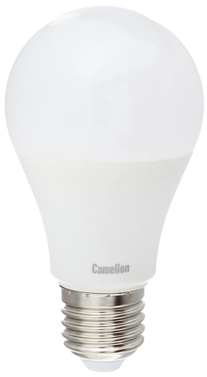 Лампа светодиодная Camelion, холодный свет, цоколь Е27, 7W11254Светодиодная лампа Camelion - это инновационное решение, разработанное на основе новейших светодиодных технологий (LED) для эффективной замены любых видов галогенных или обыкновенных ламп накаливания во всех типах осветительных приборов. Она хорошо подойдет для создания рабочей атмосферыв производственных и общественных зданиях, спортивных и торговых залах, в офисах и учреждениях. Лампа не содержит ртути и других вредных веществ, экологически безопасна и не требует утилизации, не выделяет при работе ультрафиолетовое и инфракрасное излучение. Напряжение: 220-240 В / 50 Гц.Индекс цветопередачи (Ra): 77+.Угол светового пучка: 270°. Использовать при температуре: от -30° до +40°.