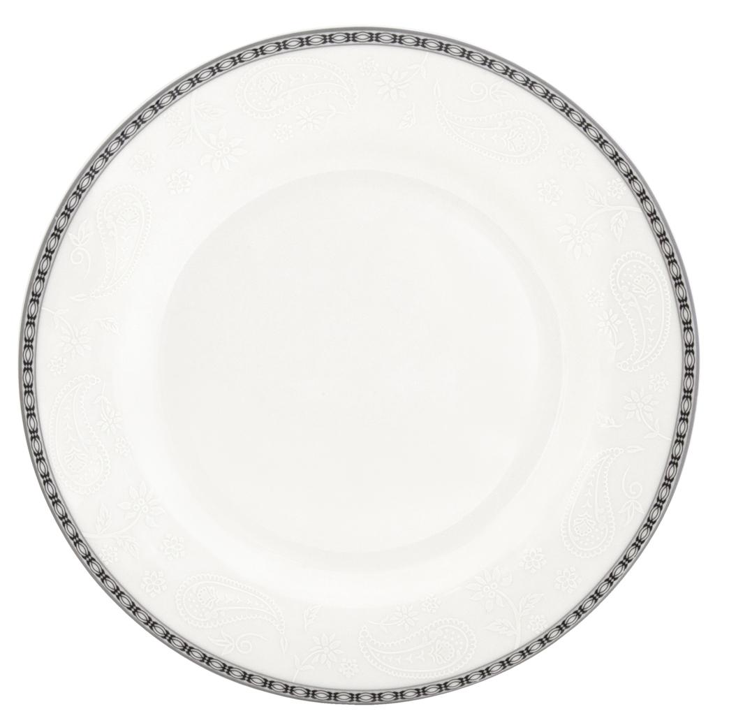 Набор обеденных тарелок Esprado Arista White, диаметр 22,5 см, 6 штARW022WE301Набор Esprado Arista White состоит из шести обеденных тарелок, выполненных из высококачественного костяногофарфора. Над созданием дизайна коллекций посуды из фарфора Esprado работает международная команда высококлассных дизайнеров, не только воплощающих в жизнь все новейшие тренды, но также и придерживающихся многовековых традиций при создании классических коллекций. Посуда из костяного фарфора будет идеальным выбором, для тех, кто предпочитает красивую современную посуду из высококачественного материала, которая отличается высокой прочностью и подходит для ежедневного использования. Столовая посуда Arista White, выполненная в ослепительном белом цвете и дополненная изящным платиновым декором, – идеальный выбор для создания атмосферы аристократического приема за вашим столом.Можно использовать в микроволновки печи и мыть в посудомоечной машине.