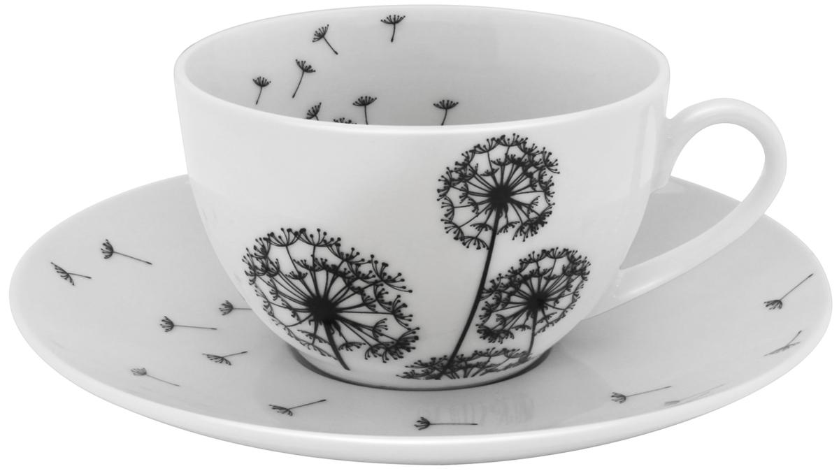Набор чайный Esprado Viente, 12 предметов посуда из фарфора оптом
