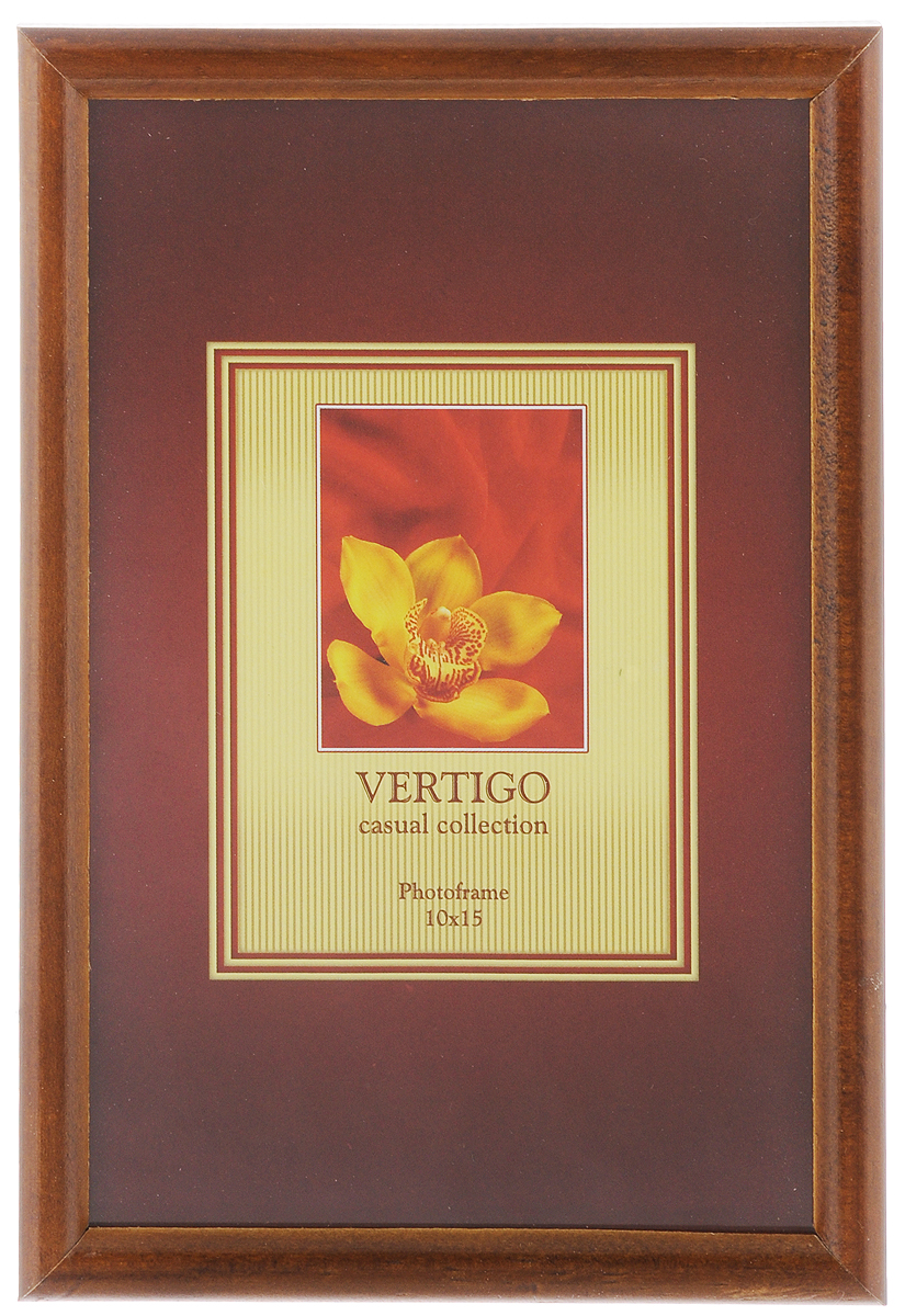 Фоторамка Vertigo Veneto, цвет: темно-коричневый, 10 х 15 см12179 WF-019/179_темно-коричневыйФоторамка Vertigo Veneto выполнена из дерева истекла, защищающего фотографию. Оборотная сторонарамки оснащена специальной ножкой, благодарякоторой ее можно поставить в любое удобное место вдоме или офисе. Также изделие оснащено специальнымиметаллическими петлями для подвешивания на стену.Такаяфоторамка поможет вам оригинально и стильнодополнить интерьер помещения, а также позволитсохранить память о дорогих вам людях и интересныхсобытиях вашей жизни.