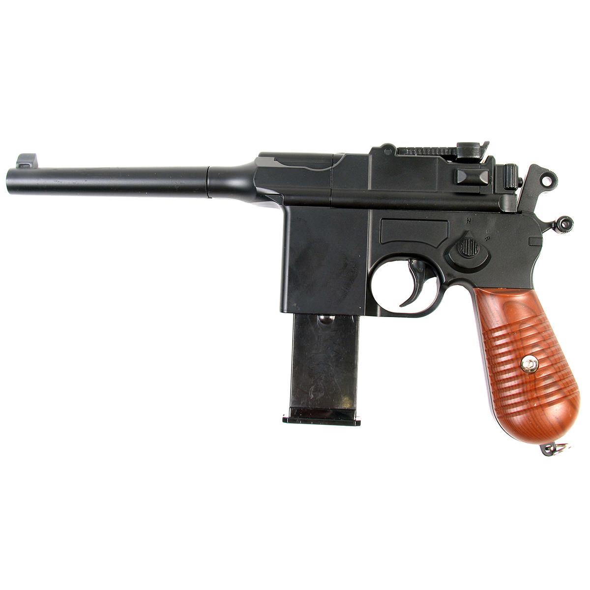 Пистолет страйкбольный Galaxy G.12, пружинный, 6 мм gletcher магазин для пистолета gletcher pm