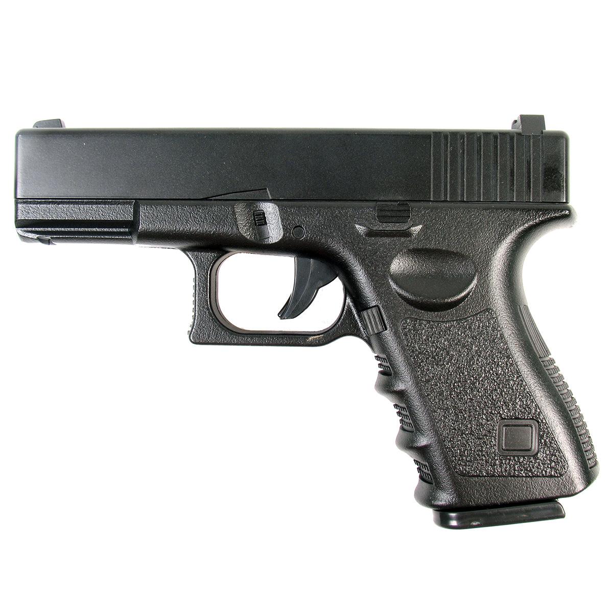 Пистолет страйкбольный Galaxy G.15, пружинный, 6мм этикетка для этикет пистолета 22х12 мм оранжевая 800 шт рул