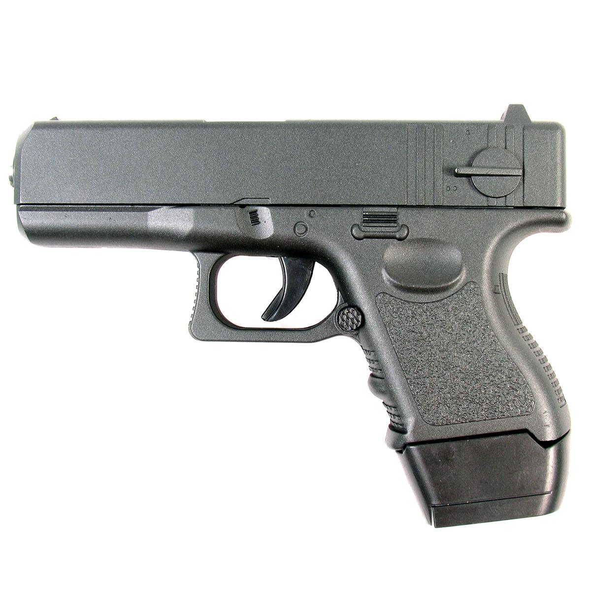 Пистолет страйкбольный Galaxy G.16, пружинный, 6 мм пневматический пистолет glock в минске