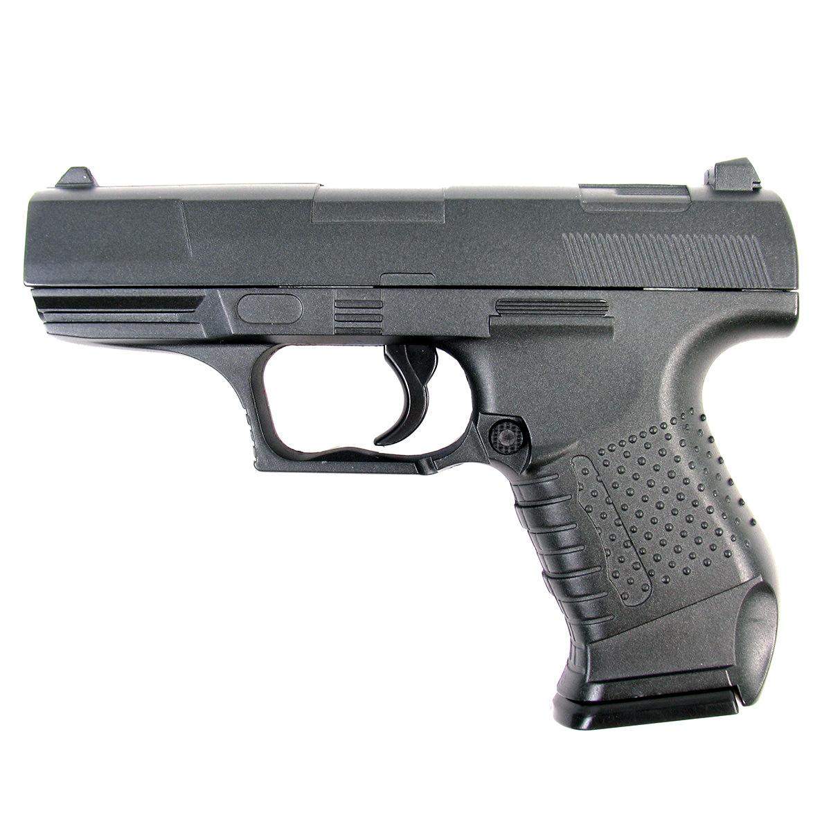 Пружинный пистолет G.19 является уменьшенной копией пистолета Walther P88. Корпус пистолета цельнометаллический. В магазин вмещается 8 шариков BB 6 мм. Выстрел из пистолета осуществляется с помощью пружины, максимальная начальная скорость выстрела не более 50 м/с. Прицельные приспособления не регулируемые, пистолет предназначен для стрельбы на короткие дистанции.