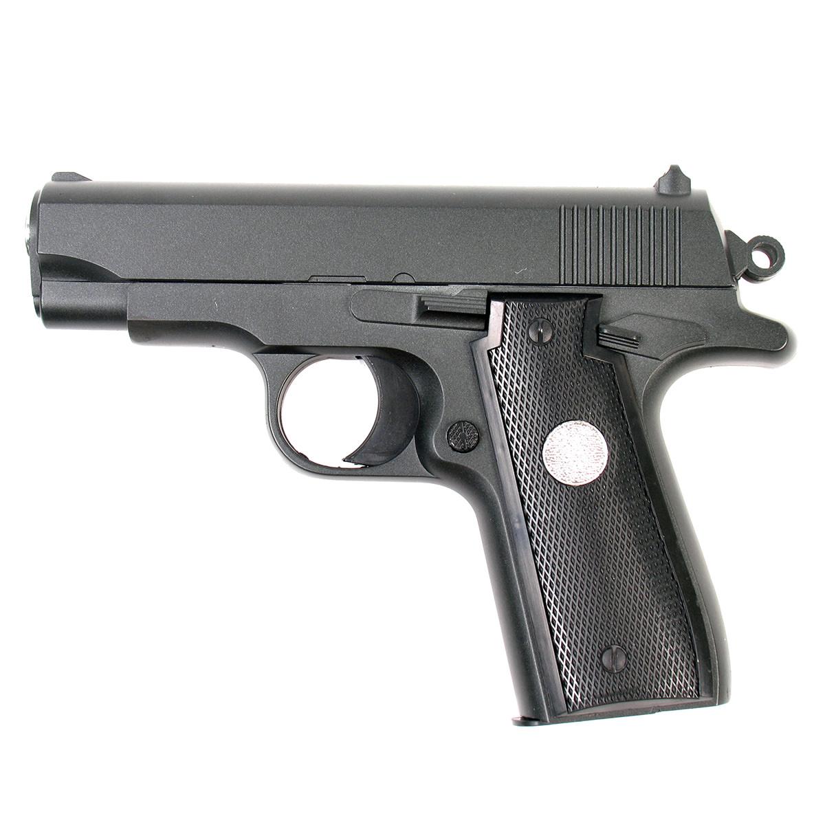 Пистолет страйкбольный Galaxy G.2, пружинный, 6 мм страйкбольный пистолет galaxy g 19 walther p99