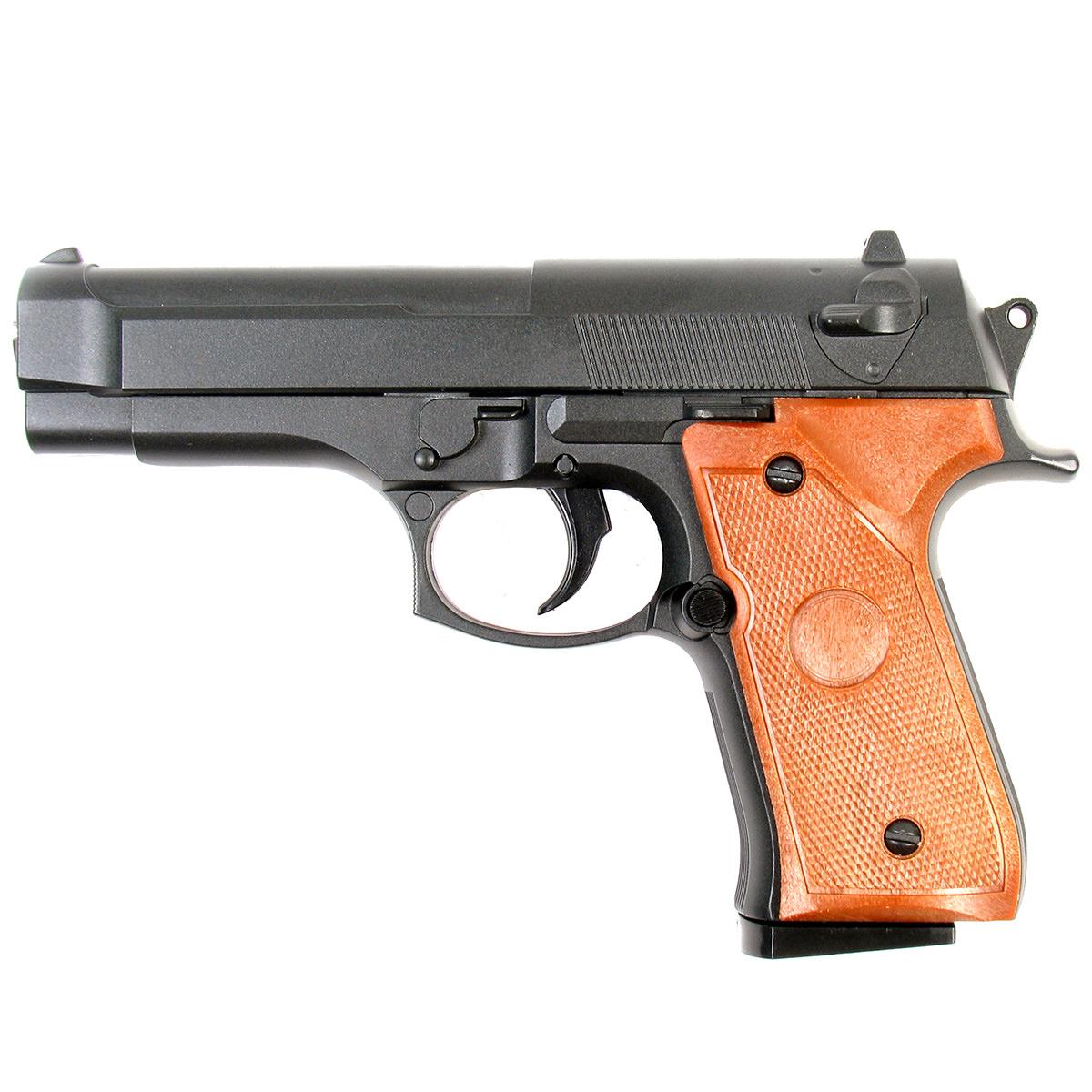 Пистолет страйкбольный Galaxy G.22, пружинный, 6 мм