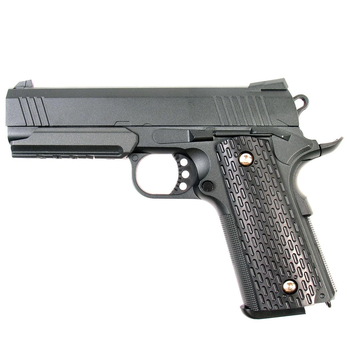 Пистолет страйкбольный Galaxy G.25, пружинный, 6 мм gletcher магазин для пистолета gletcher pm