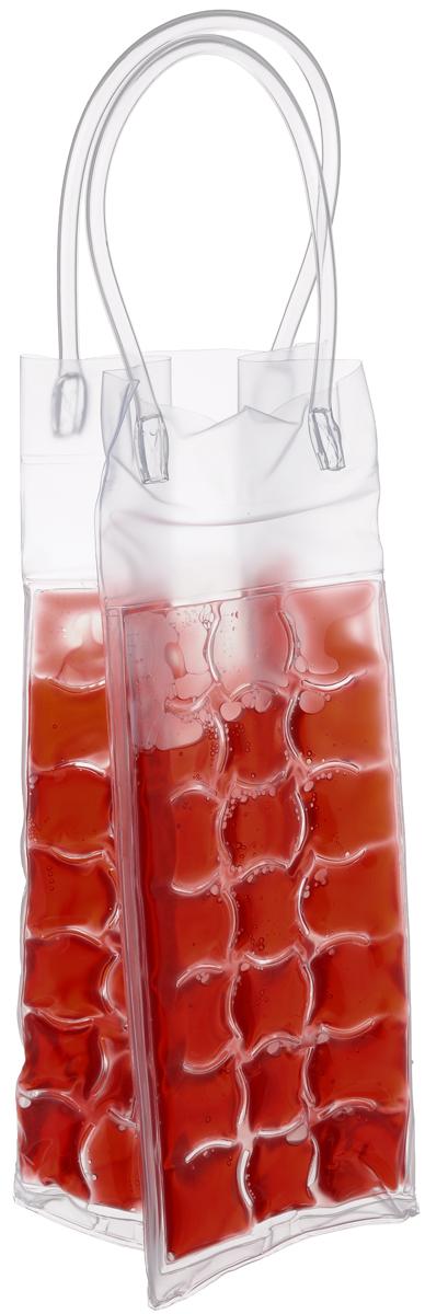 Сумка-термос Tescoma Mydrink, цвет: красный, 10 х 9 х 25 см308846_красныйСумка-термос Tescoma Mydrink предназначена для поддержания идеальной температуры холодных напитков жарким летом. Отлично подходит для сервировки белых, розовых вин и других прохладительных напитков в саду, на террасе и в доме. Изделие оснащено ручками, которые облегчают переноску напитков. Перед каждым использованием рекомендуется по крайней мере на 8 часов поместить сумку-термос в холодильник, затем вынуть и вложить в нее охлажденный напиток. Не подходит для использования в морозильной камере. Размер сумки-термоса (без учета ручек): 10 х 9 х 25 см.