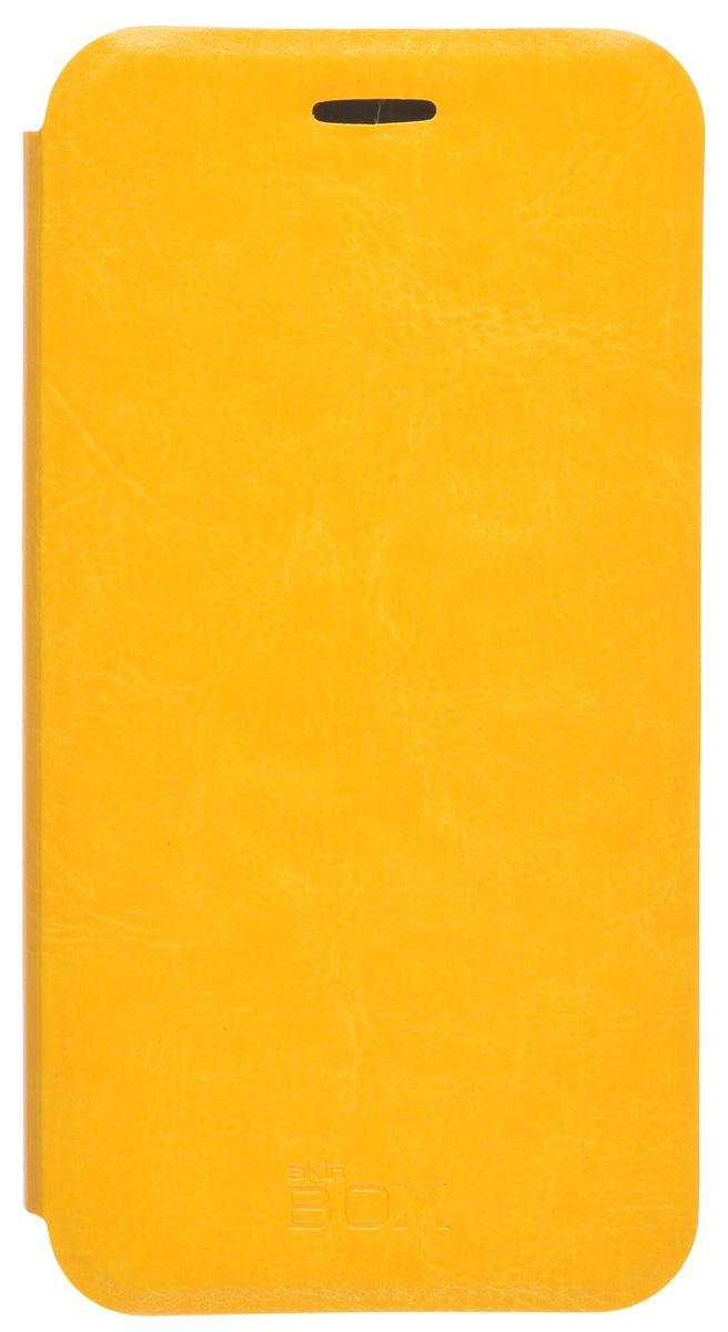 Skinbox Lux чехол для Asus Zenfone Go ZB452KG, Yellow skinbox чехол для asus zenfone go zc451tg lux