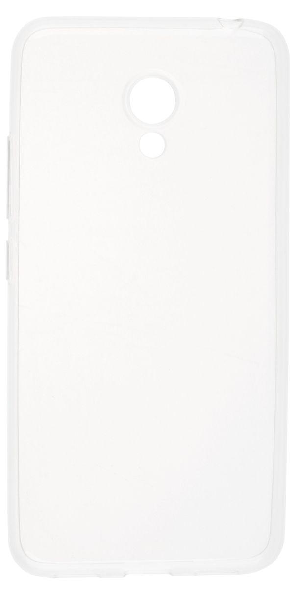 Skinbox Slim Silicone чехол-накладка для Meizu M3 mini, Clear чехлы для телефонов skinbox накладка skinbox slim silicone для meizu pro 6