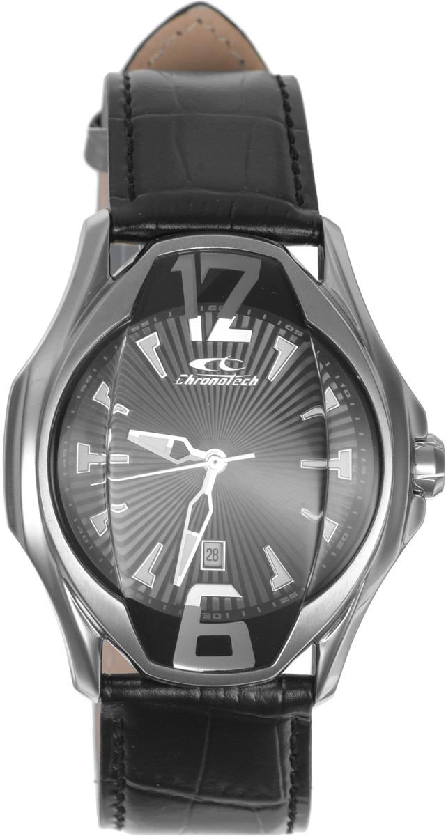 Часы наручные мужские Cronotech, цвет: черный. RW0029