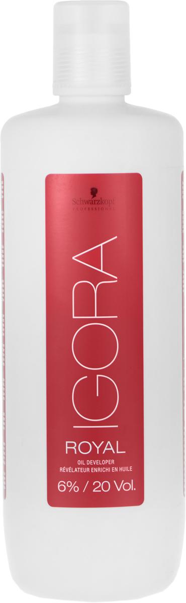 Igora Royal Лосьон-окислитель 6% 1000 мл1634436/183085Лосьон-окислитель для применения со всем ассортиментом Igora Royal и осветляющим порошком Igora Vario Blond Plus.6%