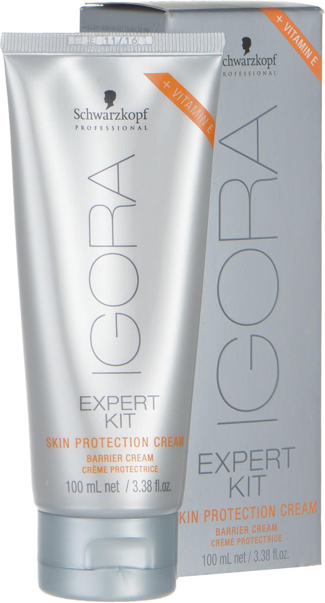 Igora Skin Protection Cream Защитный крем 100 мл1194229Крем для защиты кожи при окрашивании. Оберегает кожу рук и головы по краевой линии роста волос при химической завивке или окрашивании.