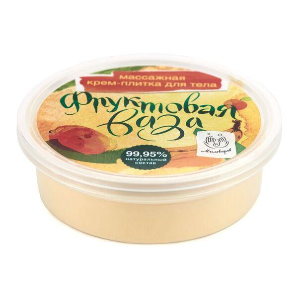 Мыловаров Массажная плитка для тела Фруктовая ваза, 90 гр масла grosheff массажная плитка виноградная косточка и лимон 150 гр