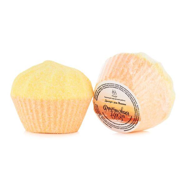 Мыловаров Шар для ванны Фруктовая ваза, 150 грMYL-000000583Феерия ароматов и красок бурлящего шара Фруктовая ваза превращает обычное купание в роскошный праздник души и тела. Нежное миндальное масло, быстро впитываясь, делает кожу соблазнительно упругой, а натуральная морская соль очищает и питает кожу необходимыми микроэлементами.