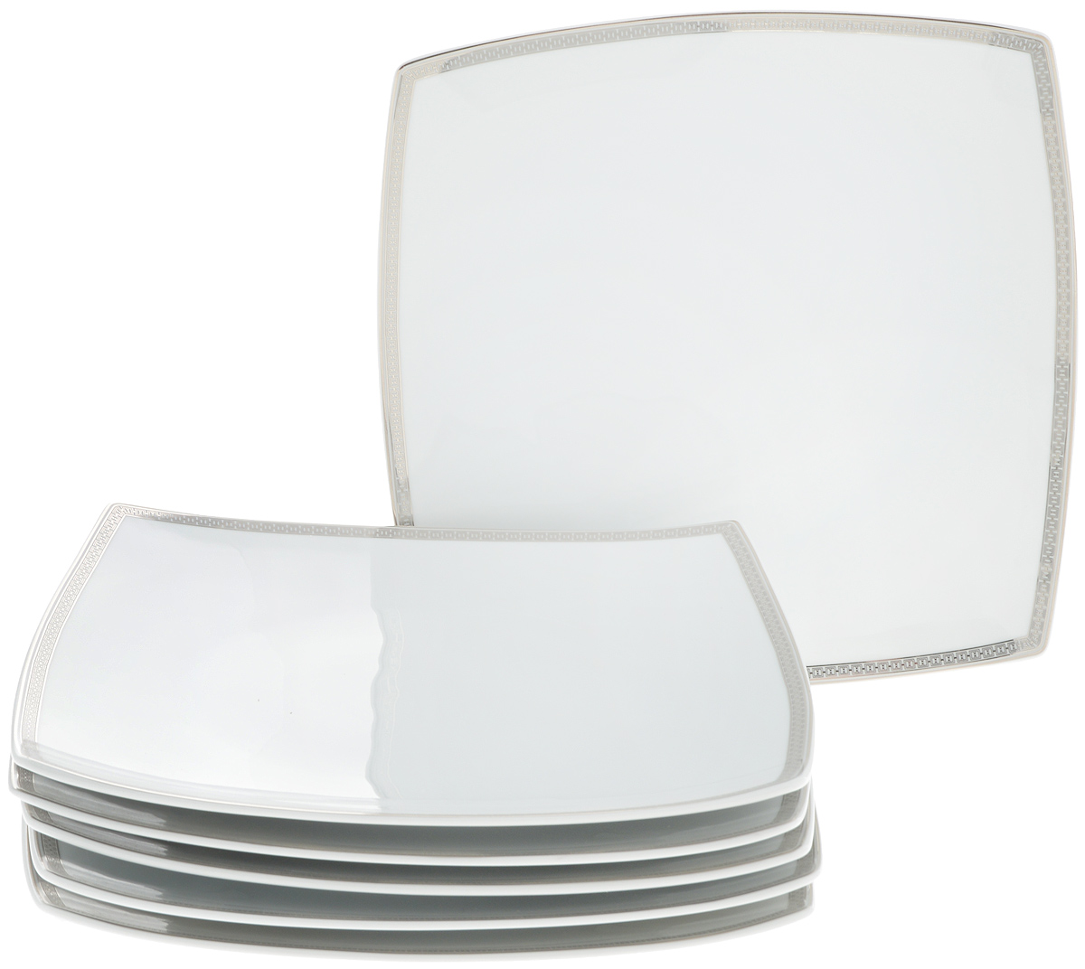 "Набор тарелок Yves De La Rosiere ""Kyoto"", 26 х 26 см, 6 шт"