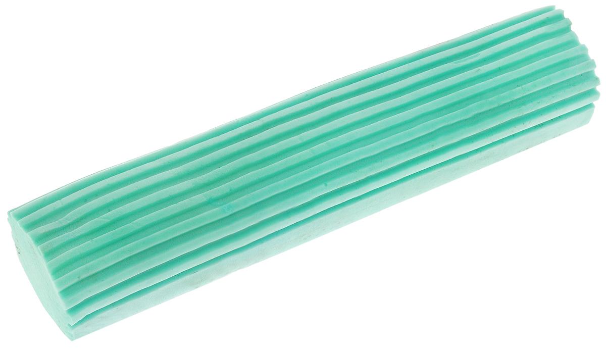 Насадка для швабры Paterra Бабочка, сменная, цвет: мятный406-089Сменная насадка для швабры Paterra Бабочка, выполненнаяиз сложных полимеров и пластика, подходит для любых напольных покрытий (керамика, ламинат, паркет, бетон, дерево). Убирает без ворсинок, царапин и разводов. Изделие обладает сверхвпитываемостью, сохраняет свою структуру и форму даже после многократного использования. Такая насадка сделает уборку эффективнее и приятнее.Размеры насадки: 27,5 х 6 х 4 см.