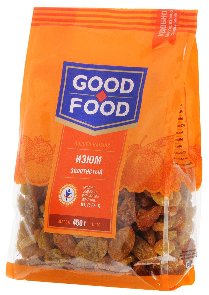 Good Food изюмзолотистый,450г изюм каждый день 150г