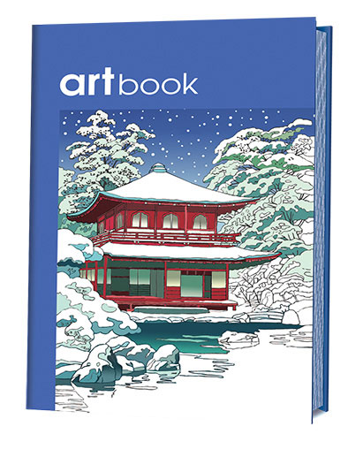 Япония. Записная книга-раскраска ARTbook книга для записей с практическими упражнениями для здорового позвоночника